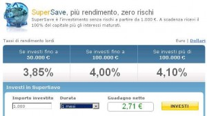 SuperSave Fineco